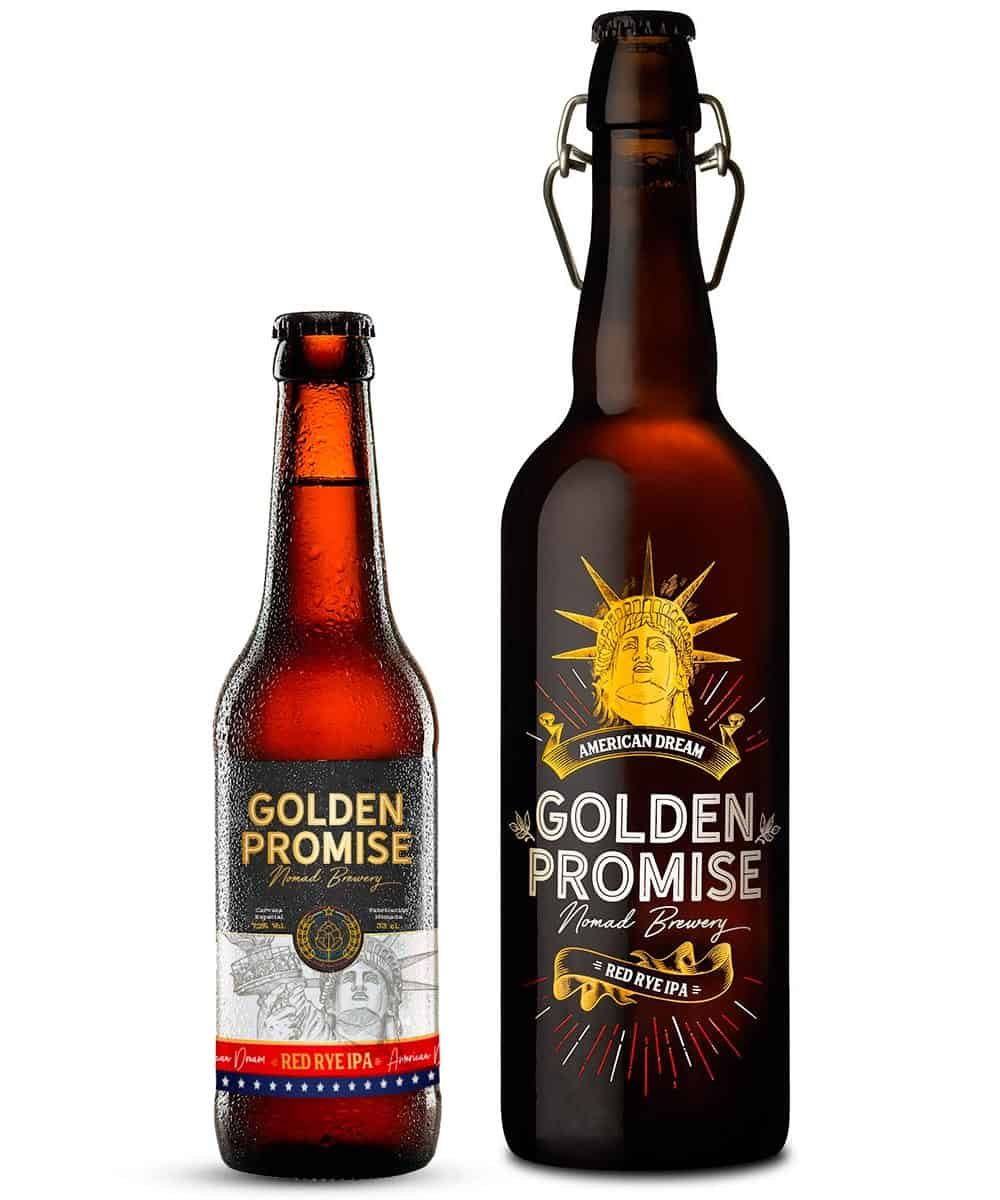Cerveza artesana American dream Golden Promise Brewing