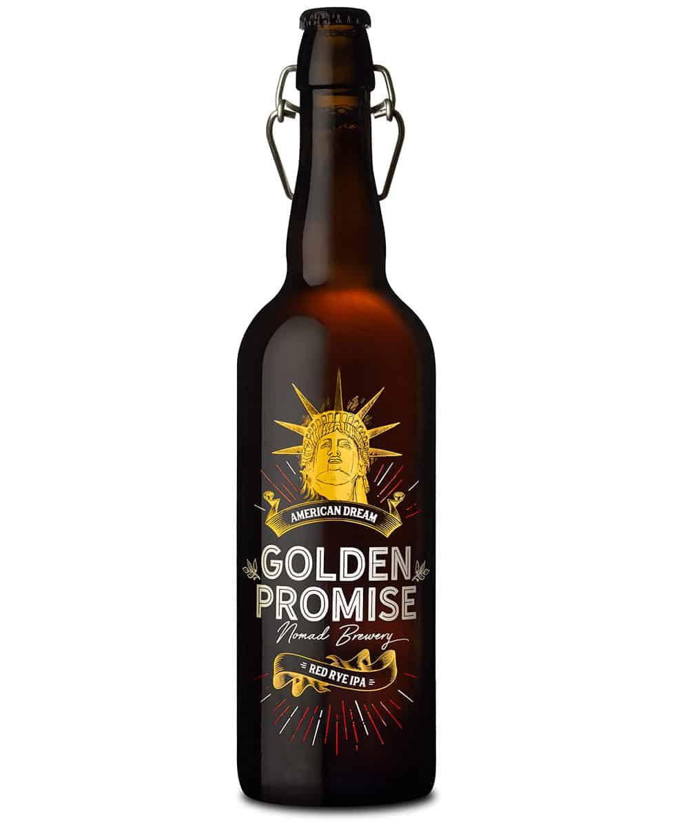 Cerveza artesana American Dream botella 75cl Golden Promise Brewing