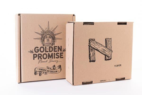 Compra caja cerveza artesana American Dream y American Dream BBA por Christian Vinck