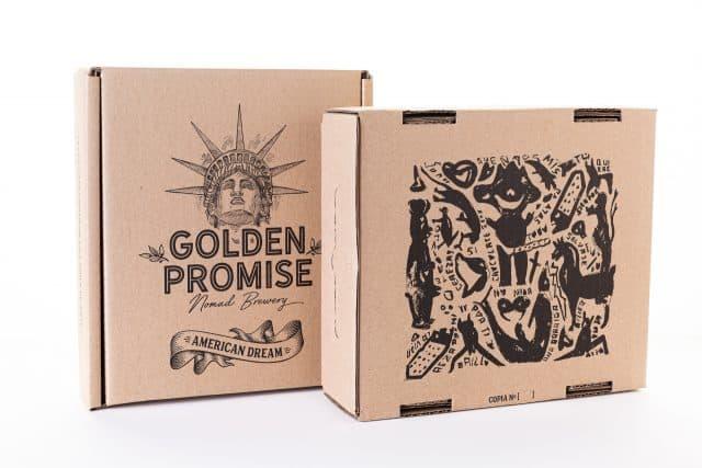 Compra Caja cerveza artesana American Dream y American Dream BBA por Ana Barriga y Golden Promise Brewing