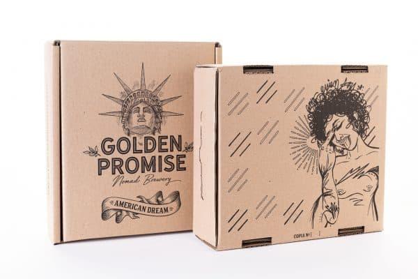 Compra caja cerveza artesana American Dream y American Dream BBA por Sofía Maldonado